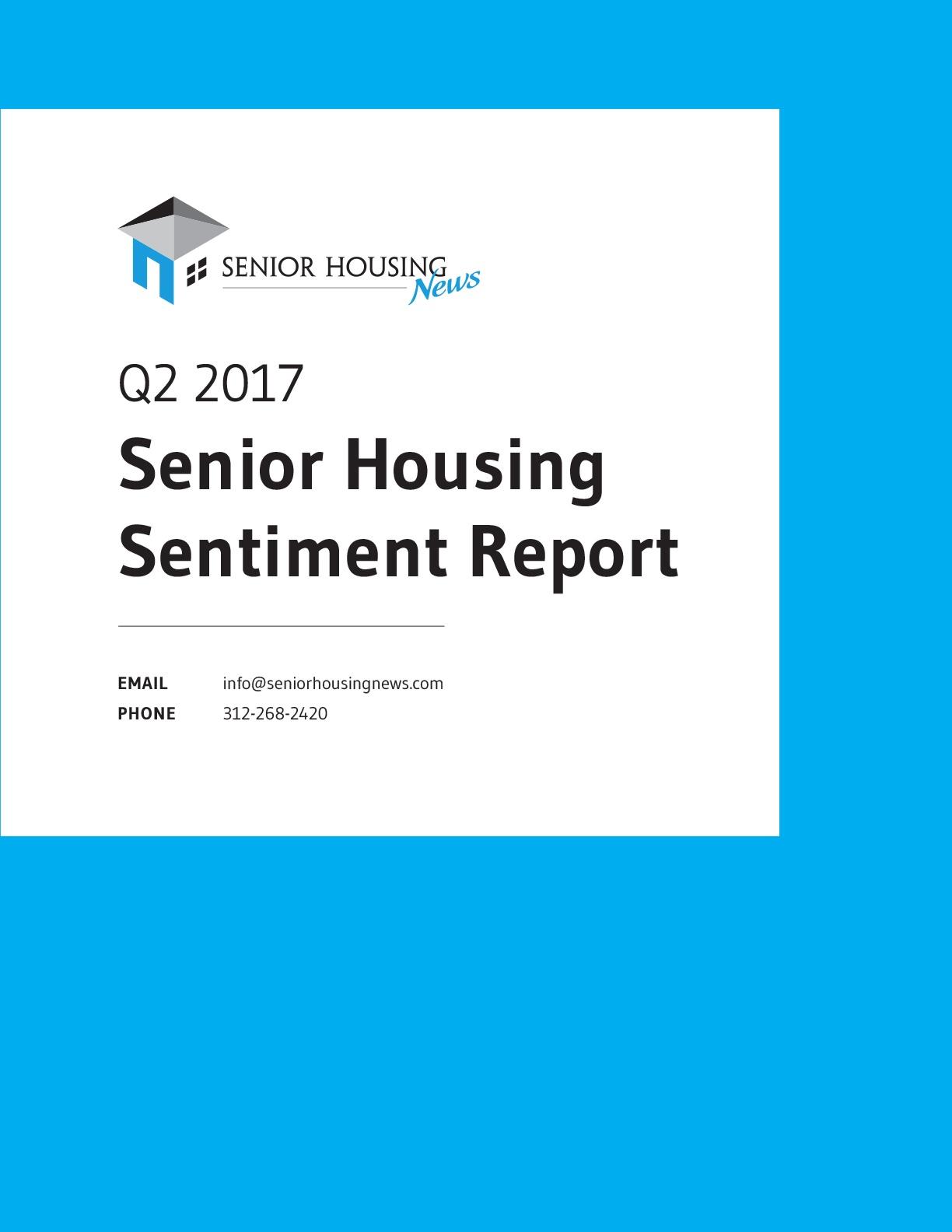 Q2 2017 Sentiment Survey Report
