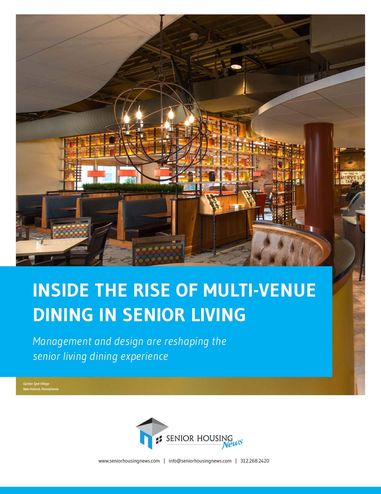 Inside The Rise of Multi-Venue Dining In Senior Living