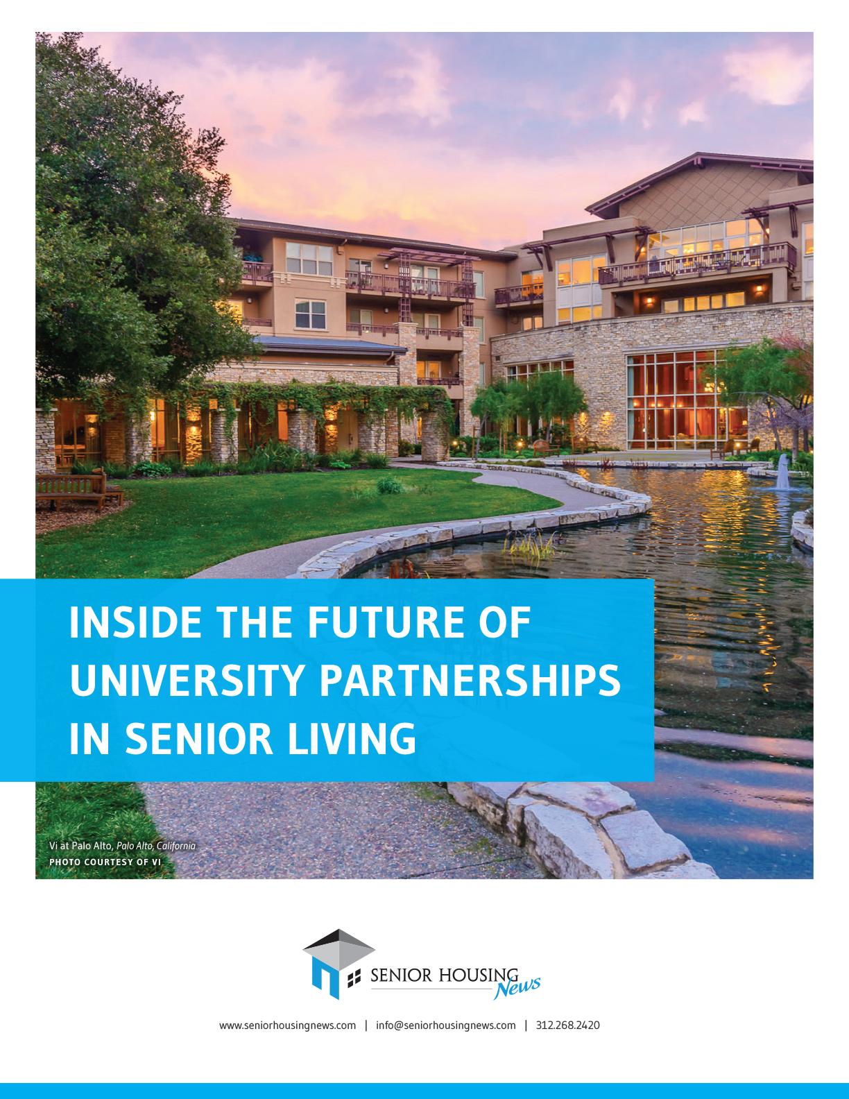 Inside The Future of University Partnerships In Senior Living