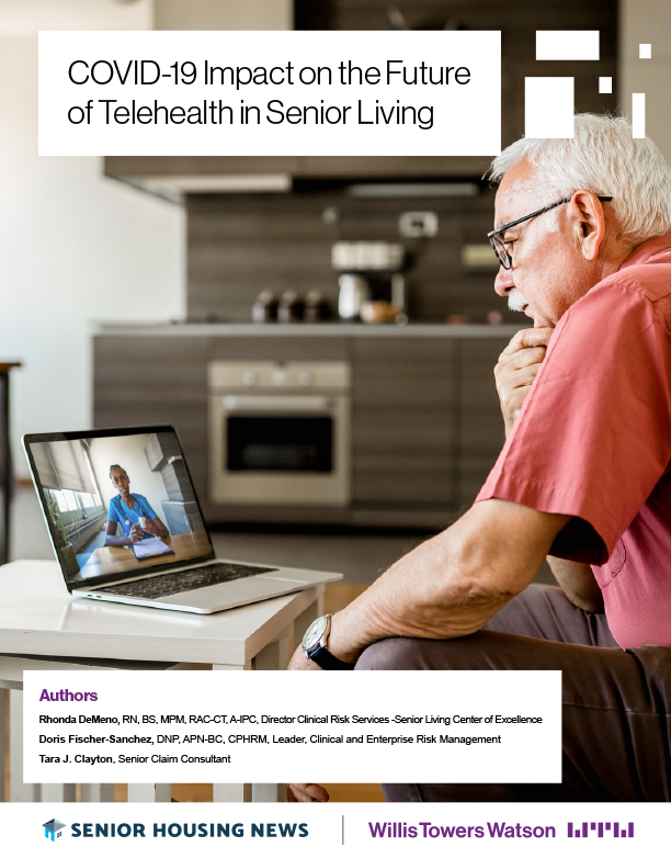 COVID-19 Impact on the Future of Telehealth in Senior Living