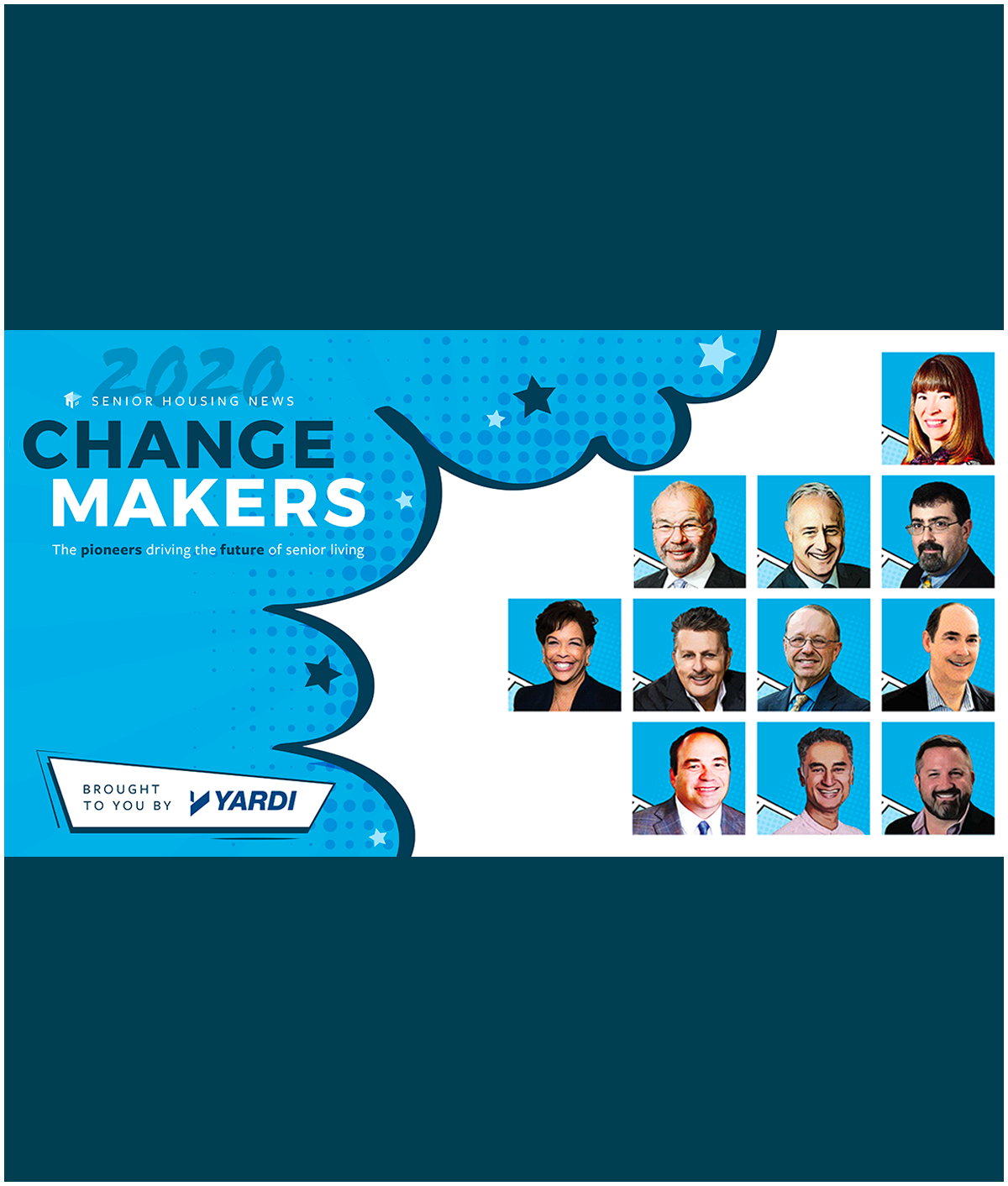 Changemakers in Senior Living: Meet the class of 2020