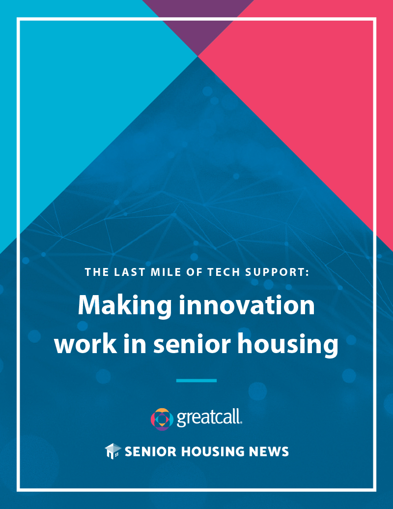 The Last Mile of Tech Support: Making Innovation Work in Senior Housing