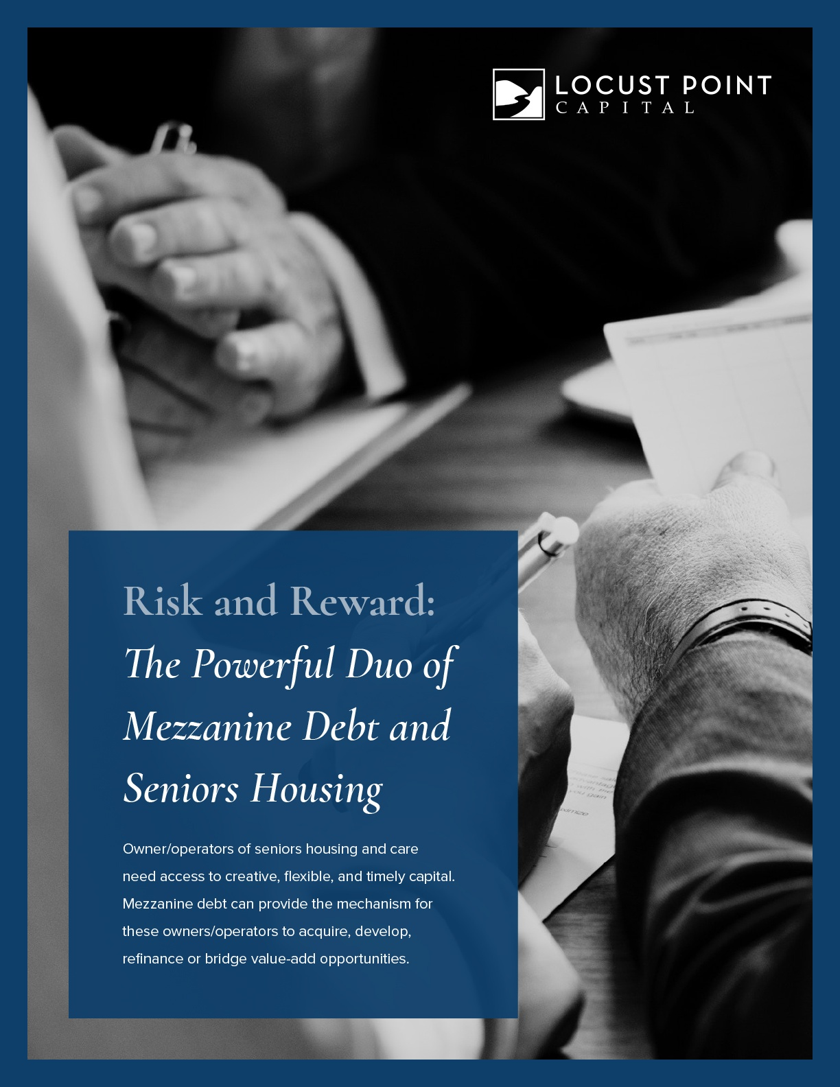 Risk and Reward: The Powerful Duo of Mezzanine Debt and Seniors Housing