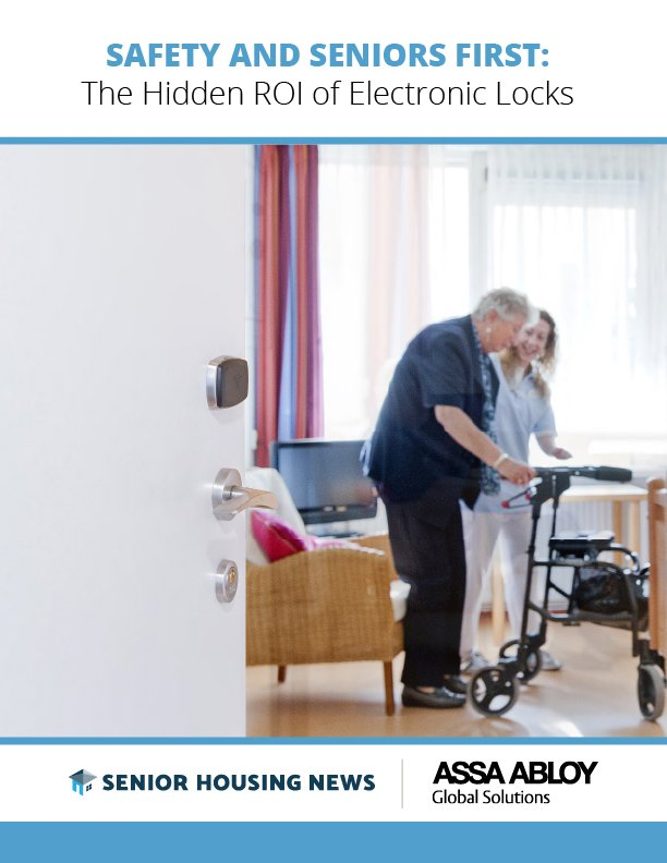 Safety And Seniors First: The Hidden ROI of Electronic Locks
