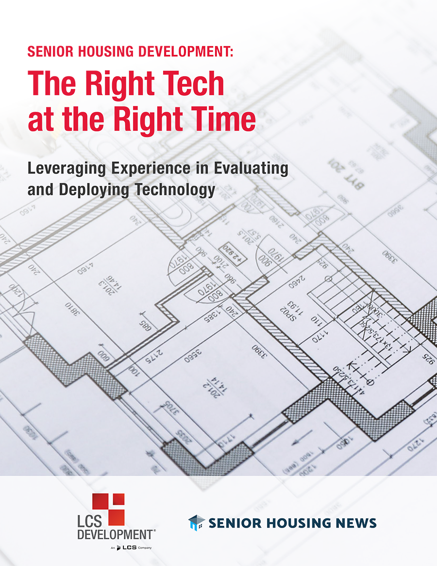 [White Paper] Senior Housing Development: The Right Tech at the Right Time