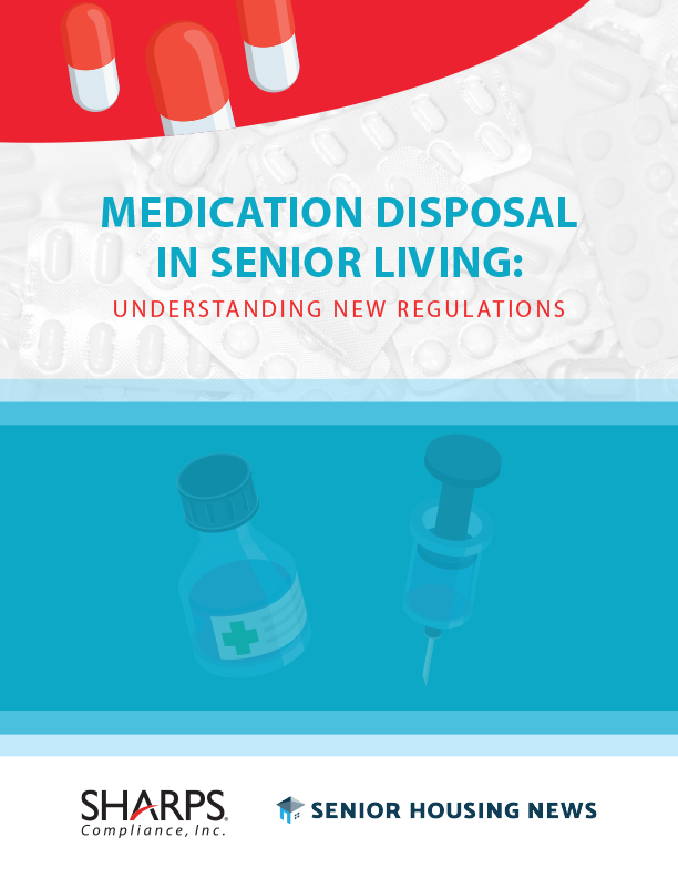 Sharps SHN Medication Disposal cover