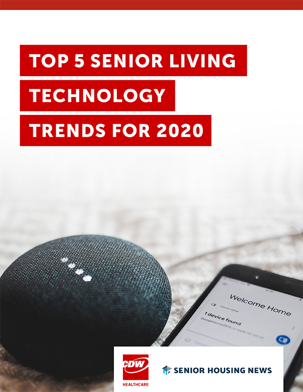 [White Paper] Top 5 Senior Living Technology Trends for 2020