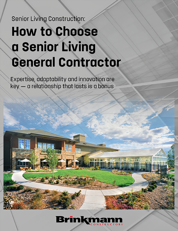[White paper] Senior Living Construction: How to Choose a Senior Living General Contractor